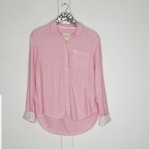 Abercrombie & Fitch | button down long sleeve sz M